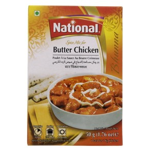 National Butter Chicken Spice Mix 50g