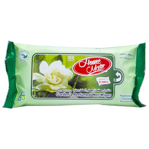 Home Mate Gardenia Perfumed Wet Wipes 10pcs