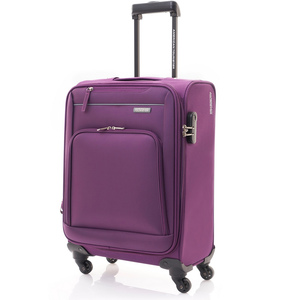 American Tourister Brook 4Wheel Soft Trolley 55cm Purple