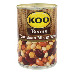 Koo Beans Four Bean Mix In Brine 410g