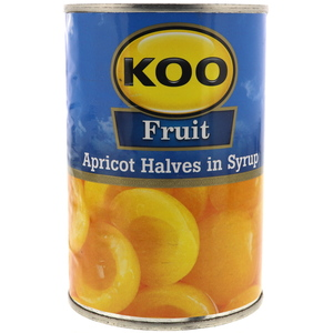 Koo Fruit Apricot Halves in Syrup 410g