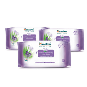 Himalaya Baby Wipes Soothing & Protecting 56pcs 2+1