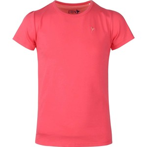 Eten Girls Basic Round-Neck Short Sleeve Paradise Pink 9-16 Y