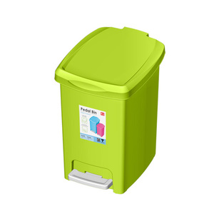 JCJ Pedal Bin 2142 Assorted Colour 5Ltr