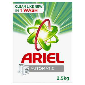 Ariel Automatic Laundry Powder Detergent Original Scent 2.5kg