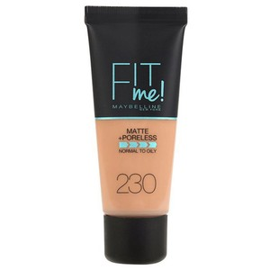 Maybelline Fit Me Matte And Poreless Foundation 230 Natural Buff 1pc