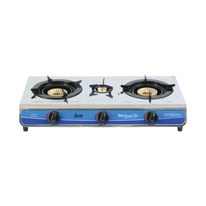 Ikon Gas Table 5128-BY 3 Burners