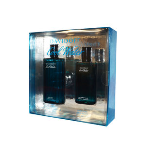 David Off Cool Water EDT for Men 125ml + After Shave Balm 75ml