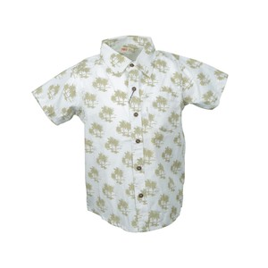 Reo Kid Boys Short Sleeve Shirt B7KB313 2-8Y