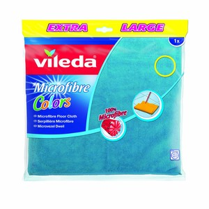 Vileda Floor Cloth Easy Clean / Cleaning and Drying Cloth 1pc Assorted
