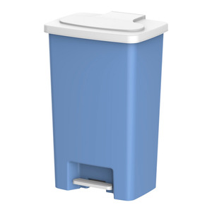 Cosmoplast Step On Waste Bin 50Ltr Assorted Color