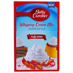 Betty Crocker Whipping Cream Mix Fluffy White 140g