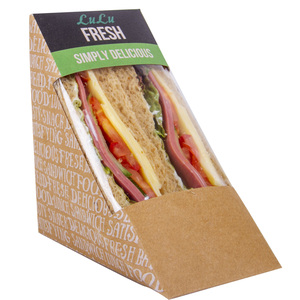 Turkey Thigh Whole Meal Sandwich 1pc