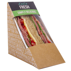 Beef Salami Brown Sandwich 1pc