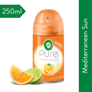 Airwick Air Freshener Freshmatic Refill Pure Mediterranean Sun 250ml