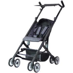 First Step Microfoldable Baby Stroller 1603-1 Black