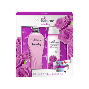 Enchanteur EDT Fascinating 100ml + Perfumed Deodorant 75ml