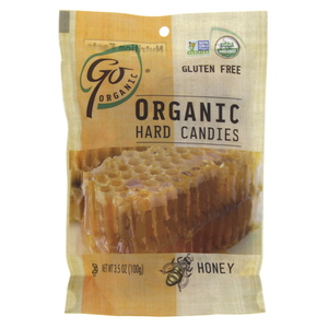 Go Organic Organic Hard Candies Honey 100g