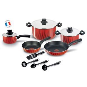 Tefal Cookware Set Tempo 12pcs C5489482