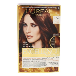 L'Oreal Excellence Intense Light Mahogany Brown 5.52 1Packet