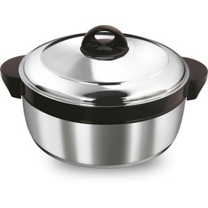Asian Stainless Steel Shining Star Casserole 1.6Ltr