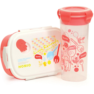 Win Plus Lunch Box + Water Bottle Assorted