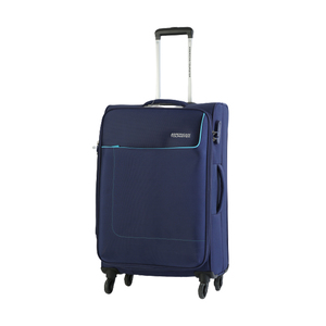 American Tourister Jamaica 4 Wheel Soft Trolley 55cm Navy Color