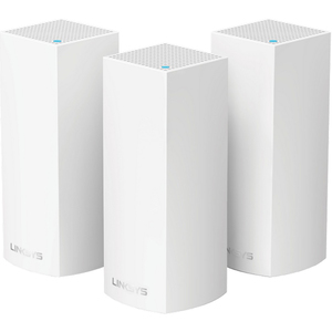 Linksys Velop Tri-band AC6600 Whole Home WiFi Mesh System, pack of 3 (WHW0303-ME)
