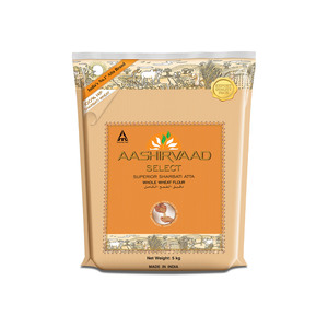Ashirvad Select Sharbati Atta Whole Wheat 5kg