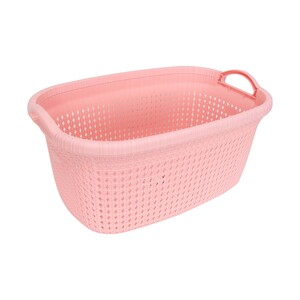 Line Rio Knit Laundry Basket 8010 35Ltr Assorted Colors