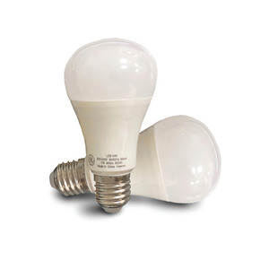 GE LED GLS Bulb 7W E27 WW 2pcs