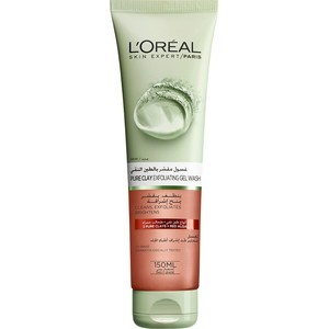 L'Oreal Paris Skin Care Pure Clay Cleanser Red Exfoliates & Brightens 150ml
