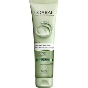 L'Oreal Paris Skin Care Pure Clay Cleanser Green Purifies & Matifies 150ml