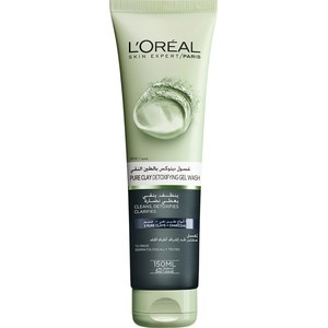 L'Oreal Paris Skin Care Pure Clay Cleanser Black Detoxifies & Clarifies 150ml