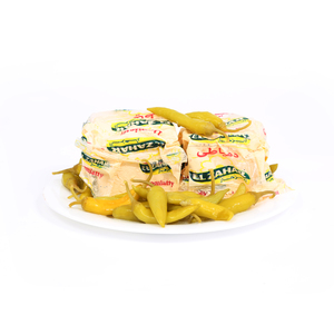 Egyptian Yellow Domiatty Cheese With Pepper 250g Approx. Weight