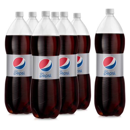 Diet Pepsi Carbonated Soft Drink Plastic Bottle 2.25Litre