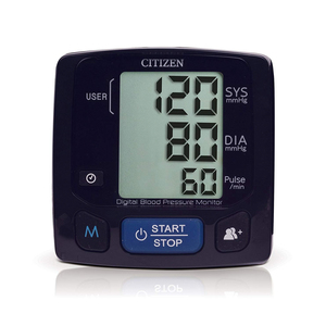 Citizen Wrist Digital Blood Pressure Monitor CH-618