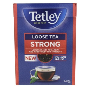 Tetley Strong Loose Black Tea 400g