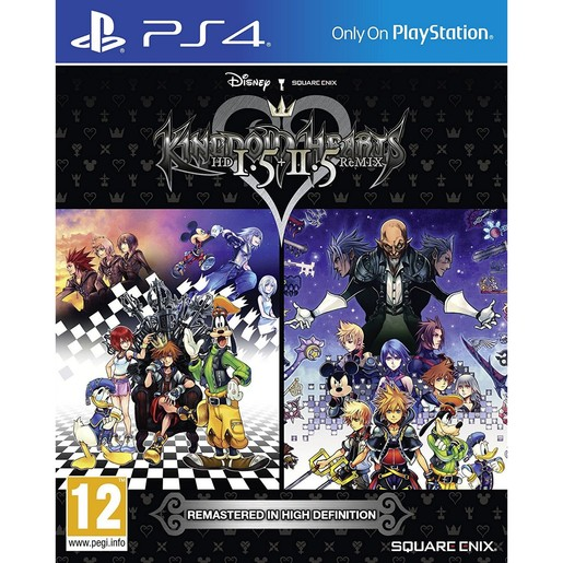 PS4 Kingdom Hearts HD 1.5 + 2.5 Remix