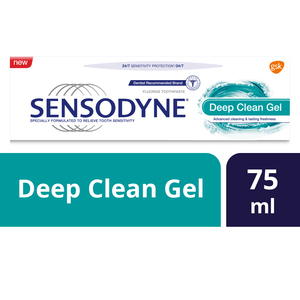 Sensodyne Toothpaste Deep Clean Gel 75ml