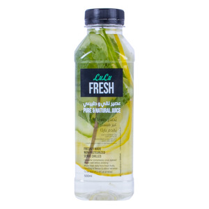 Lulu Fresh Infuse Water With Lemon And Cucumber 500ml