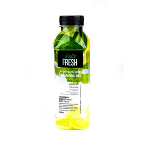 Lulu Fresh Infuse Water Cucumber, Ginger And Lemon 500ml