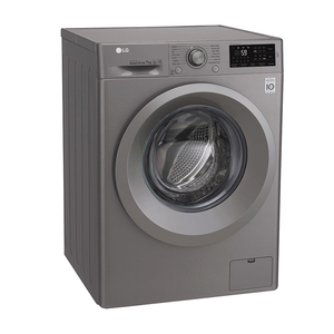 LG Front Load Washing Machine F2J5QNP7S 7Kg, 6motion, Inverter Direct Drive Motor, Add Item Function