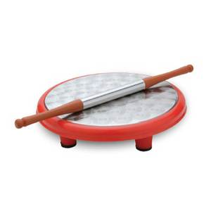 Chefline Stainless Steel Chakla Belan 10in Assorted Color