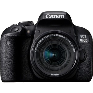 Canon DSLR Camera EOS-800D + 18-55mm 24.2MP