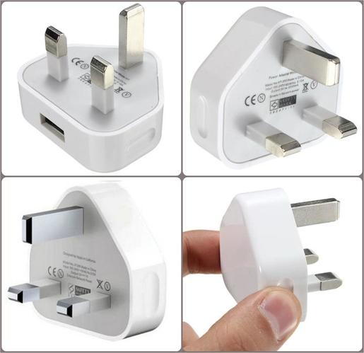 Iends Lightning Wall Charger for iPhone, iPad White AD644