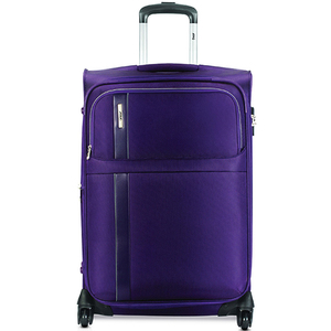 VIP Morocco 4Wheel Soft Trolley 55cm Purple
