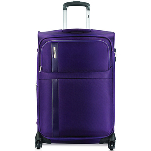 VIP Morocco 4Wheel Soft Trolley 65cm Purple