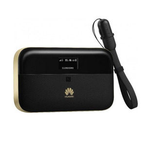 Huw 4G Mobile Router Pro2 E5885L Black and Gold