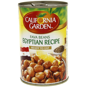 California Garden Canned Fava Beans Egyptian Recipe 450g